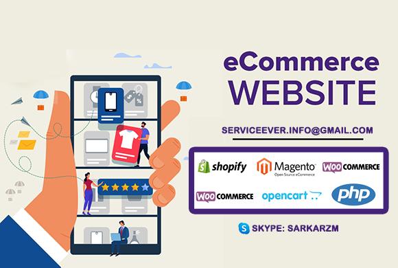 Ecommerch website development in Canada